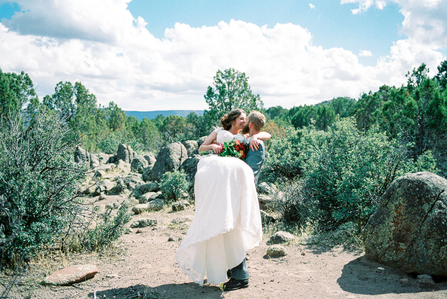 Colorado film wedding photographer Fuji 400H