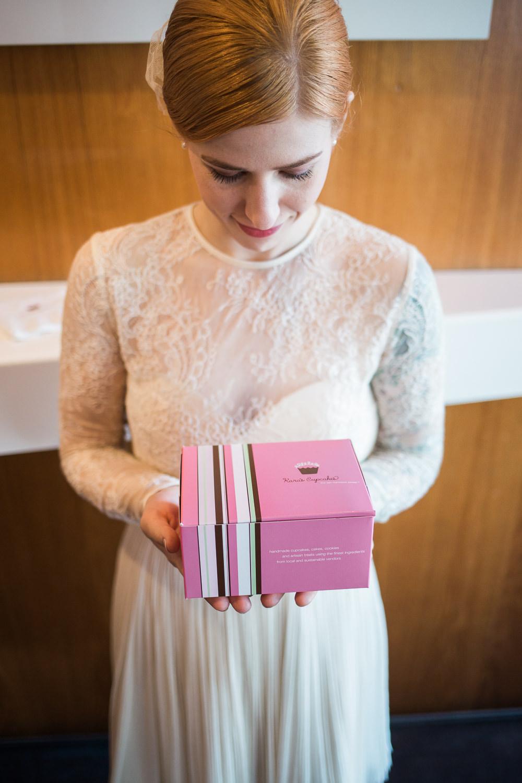 San Francisco Elopement Cupcakes for wedding cake