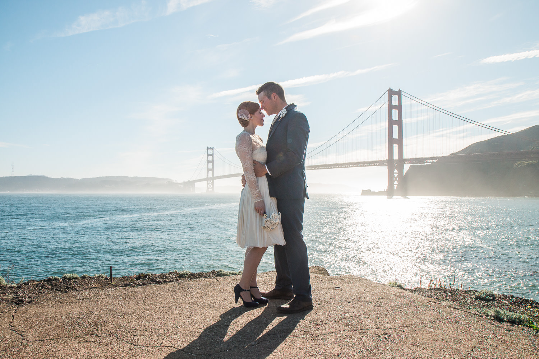 Golden Gate Bridge Adventure California wedding photographers