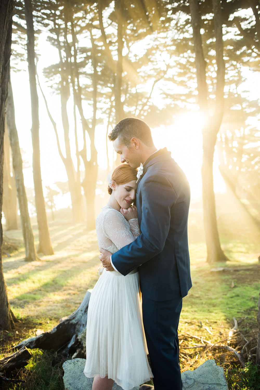 Lands End California adventure elopement photographers