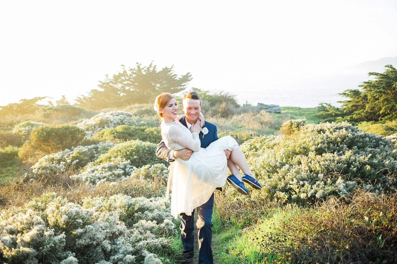 Lands End Elopement wedding pictures