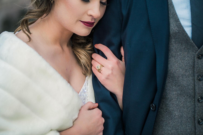 Local custom wedding jewelry hair and make up for bride Denver Colorado
