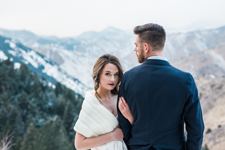 Rocky Mountain Winter Elopement Inspiration Photographers