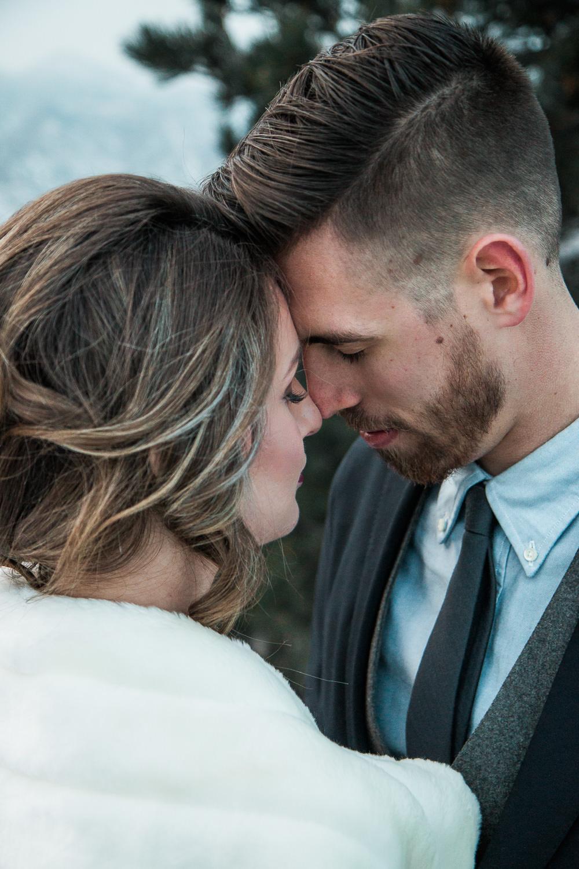 Adventure elopement photographers Colorado Rockies