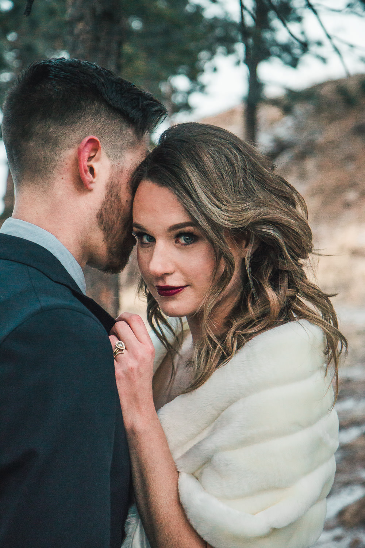 Fine art wedding elopement photography Denver Colorado