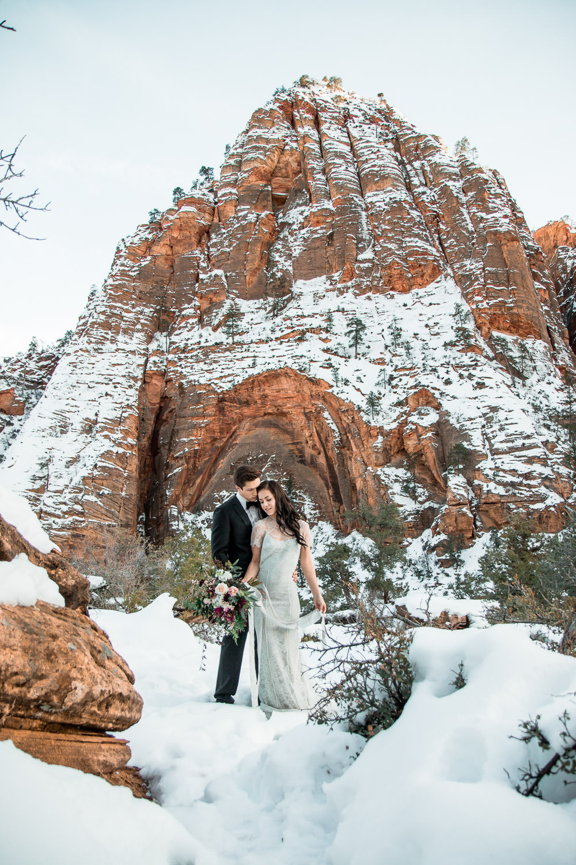 Zion National Park Wedding Photographers