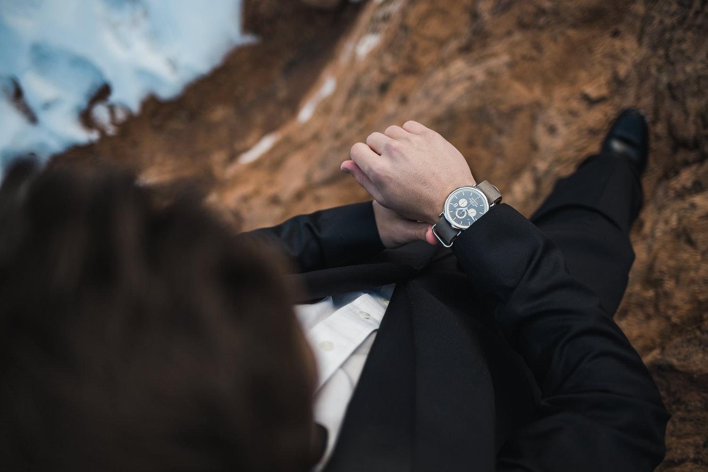 Classy groom accessories Shinola Watch Seven Oaks Fine Jewelers