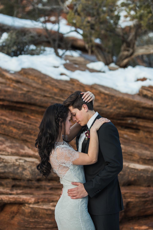 Adventure Wedding and elopement photographers Zion National Park Utah
