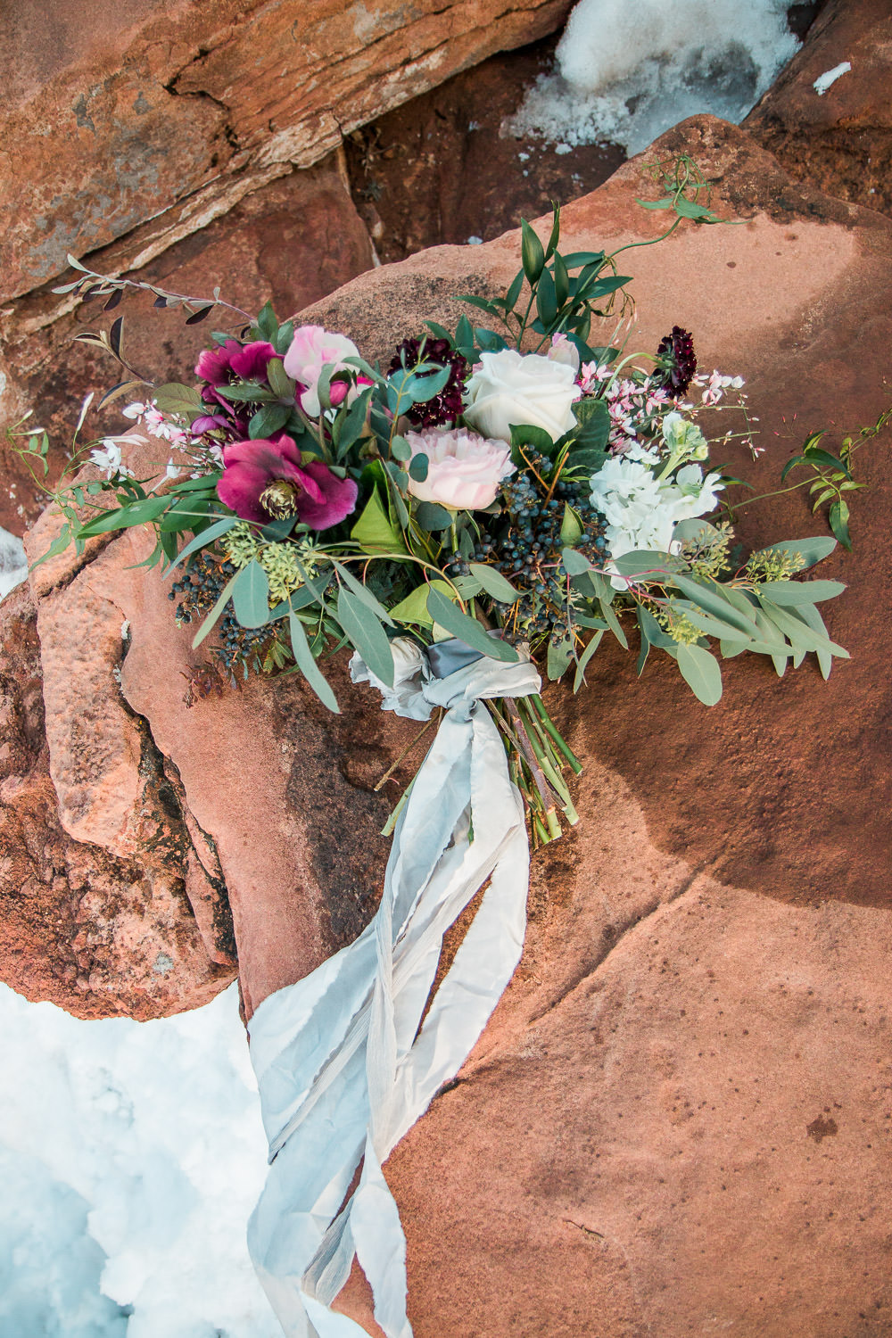 Bouquet by Bloomers florist Zion National Park Wedding