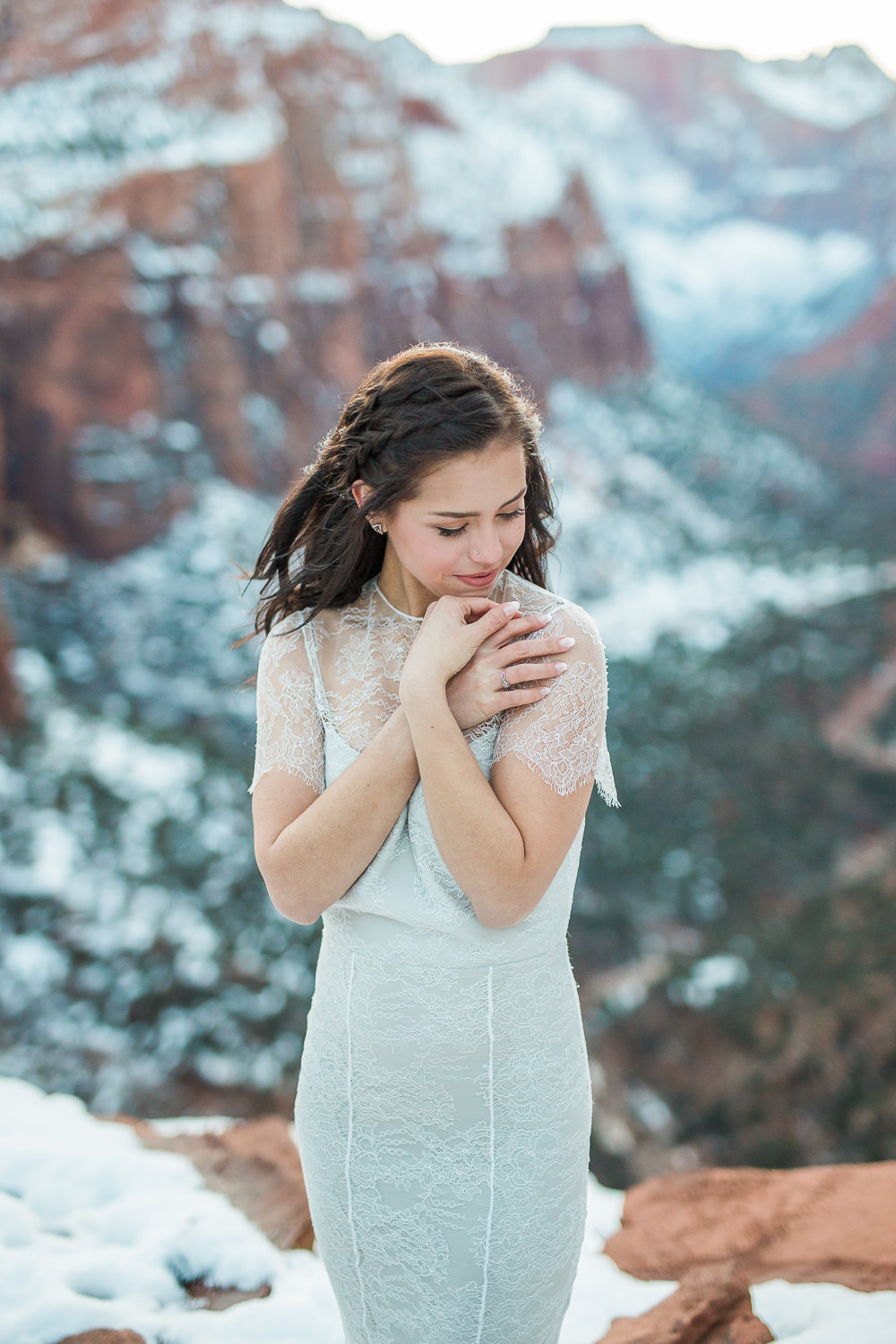 Zion National Park wedding photography