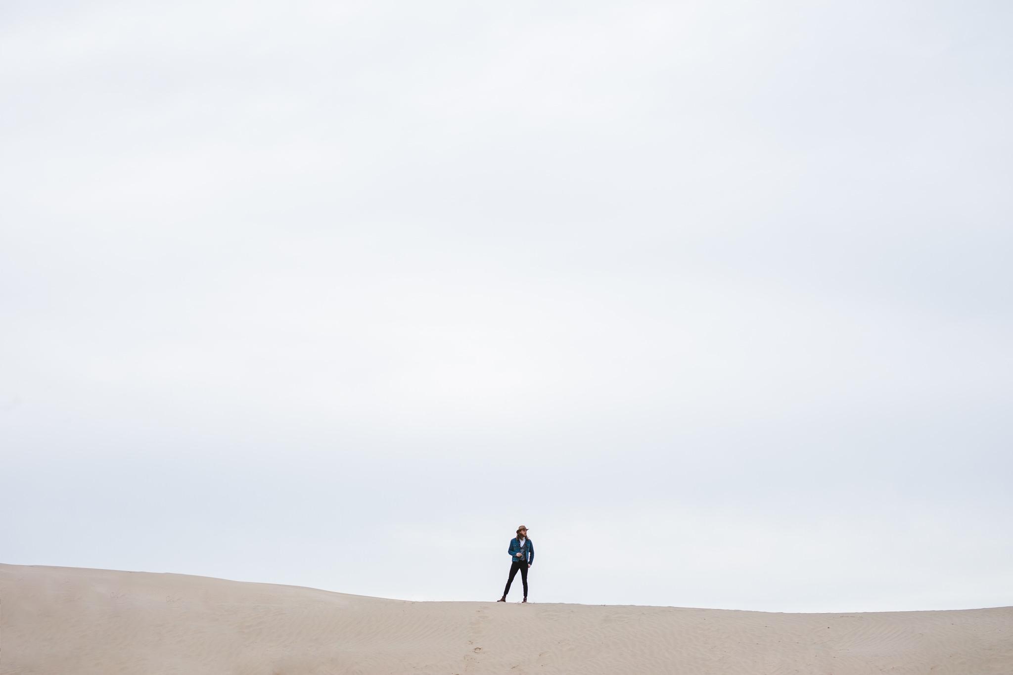 Adventure Elopement Little Sahara Sand Dunes Eureka Utah