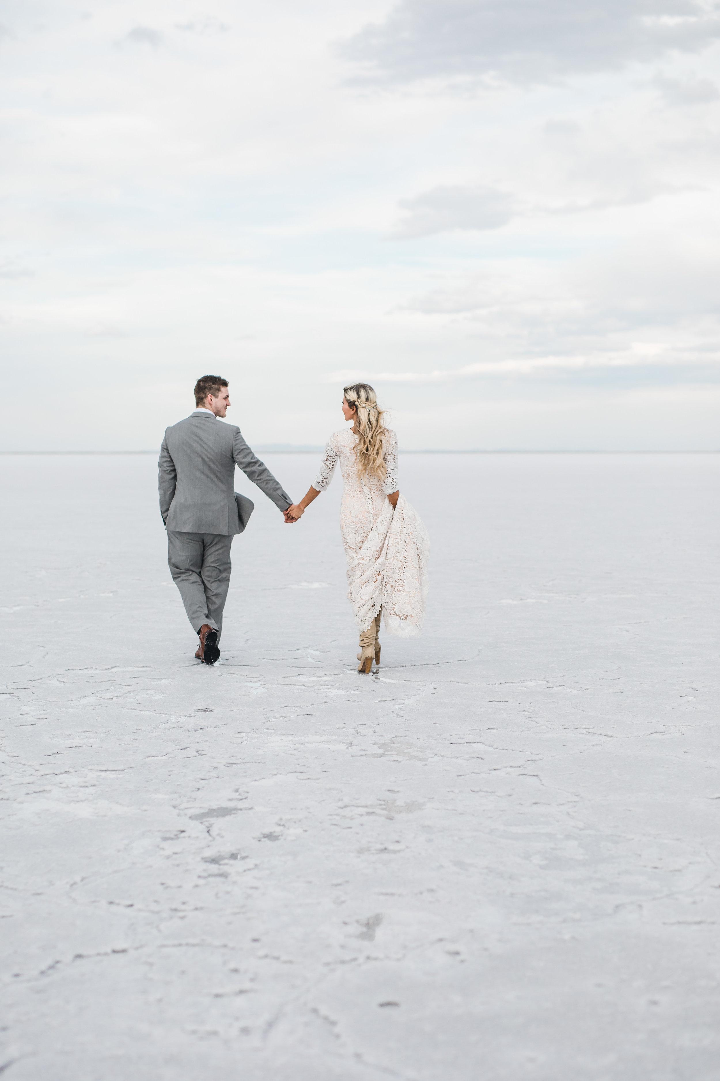 Utah adventure wedding bridals husband and wife team photographers