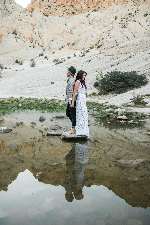 Desert oasis adventure wedding pictures Kyle Loves Tori Photography