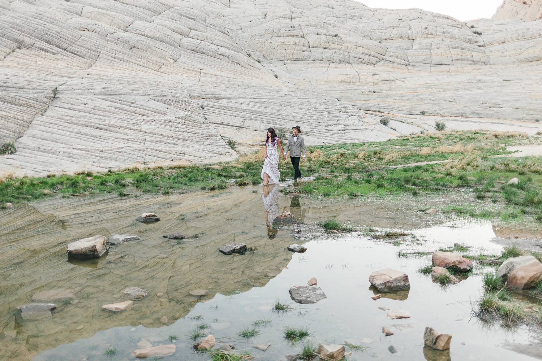 Traveling elopement photographers Kyle Loves Tori Photography