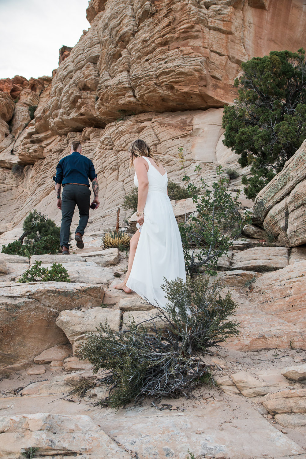 Snow Canyon State Park Anniversary Vow Renewal Saint George Utah
