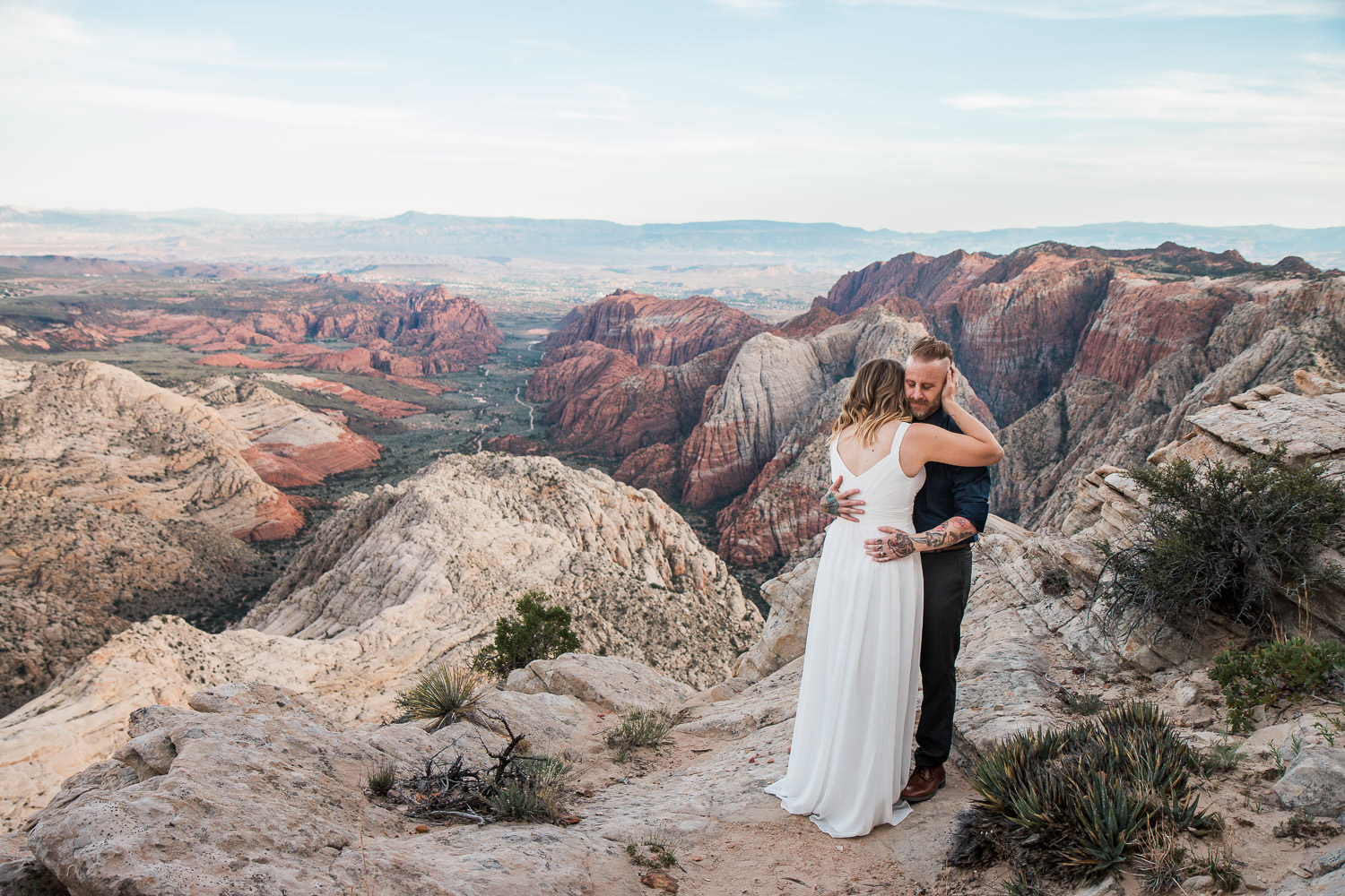Epic anniversary session near Zion National Park Utah