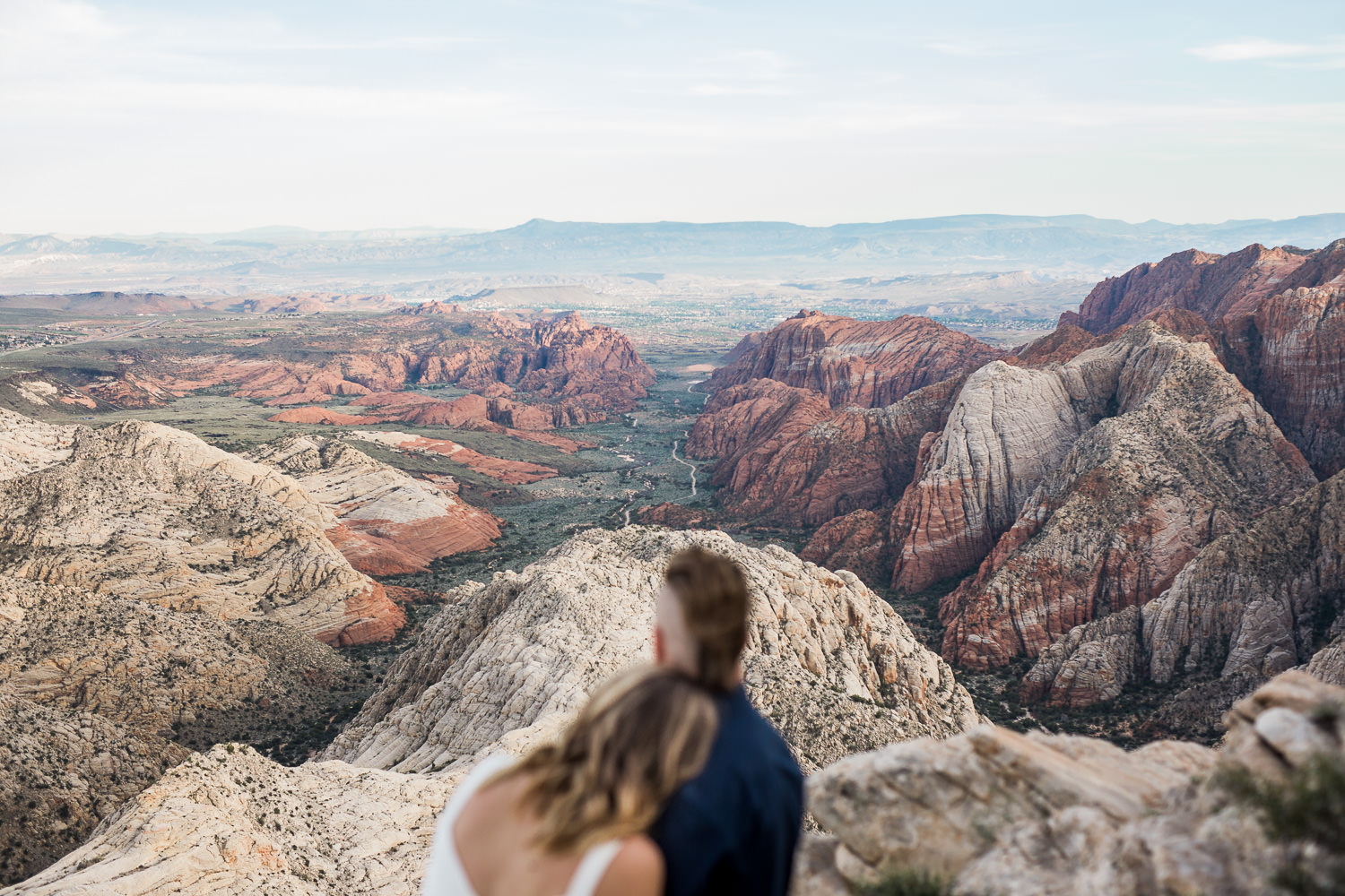 Adventure vow renewal near zion national park