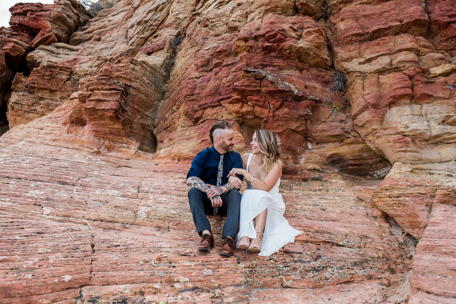 Intimate red rock vow renewal Kyle Loves Tori Photography