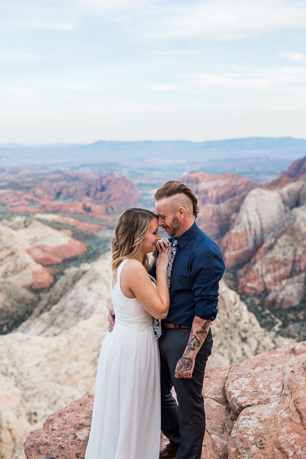 Epic vow renewal near Zion National Park Kyle Loves Tori Photography