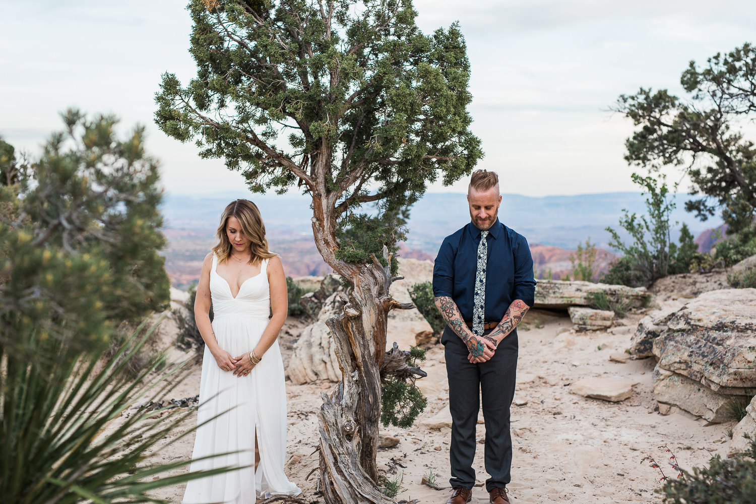 Desert Vow Renewal Adventure Wedding Photographers Saint George Utah