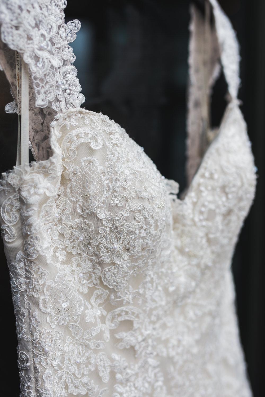 Maggie Sottero wedding dress details Kyle Loves Tori