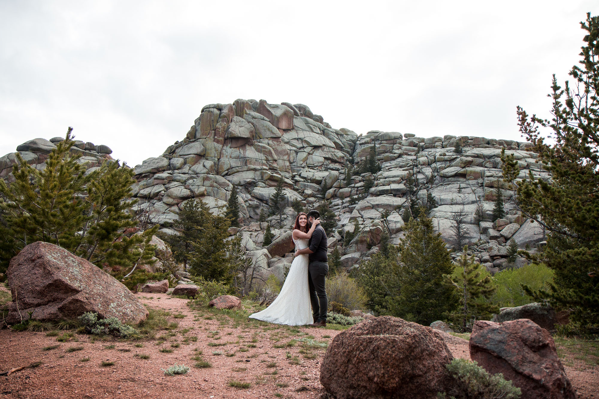 Medicine Bow National Forest Wedding Photographers Wyoming