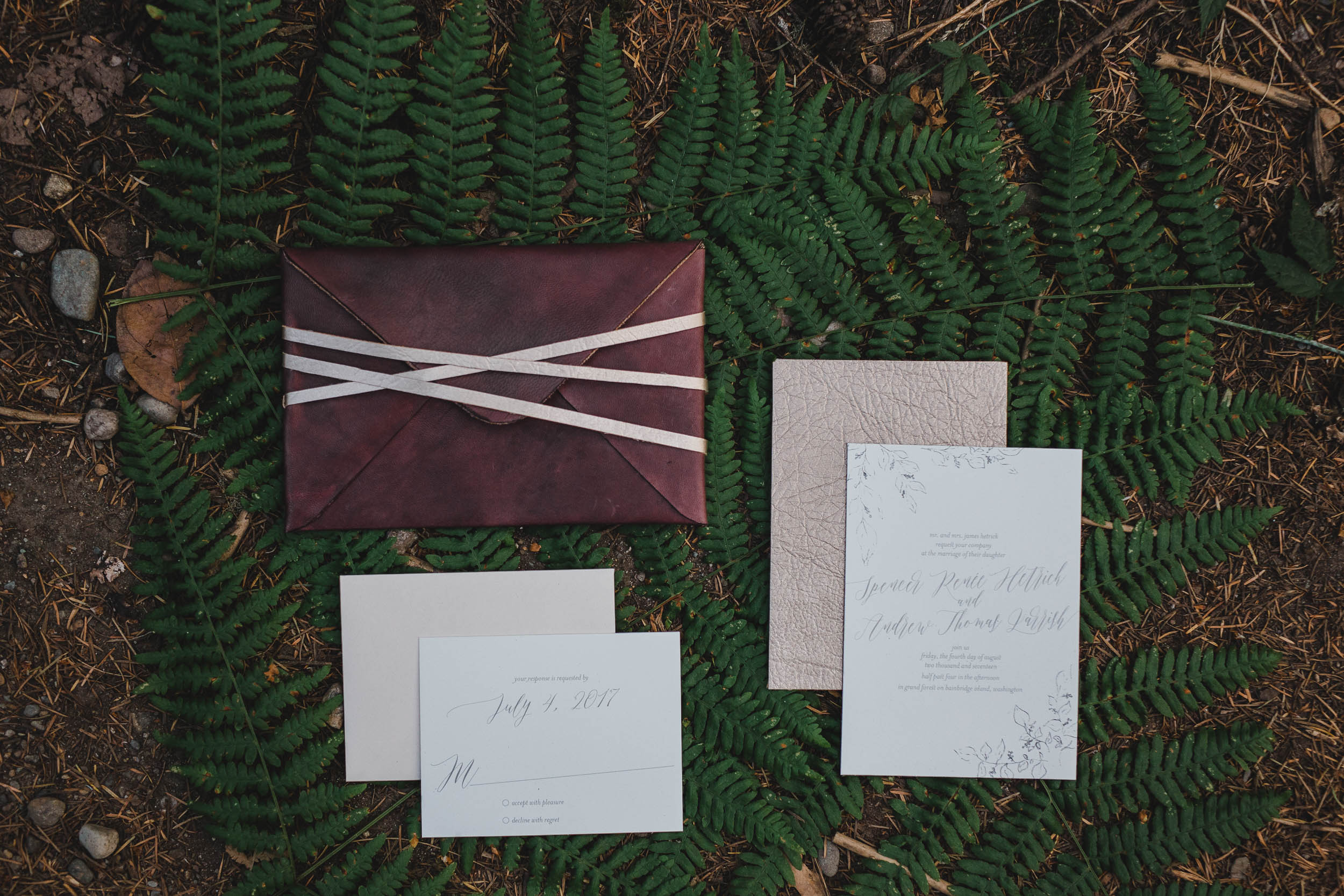Wedding Invitations by Five Dot
