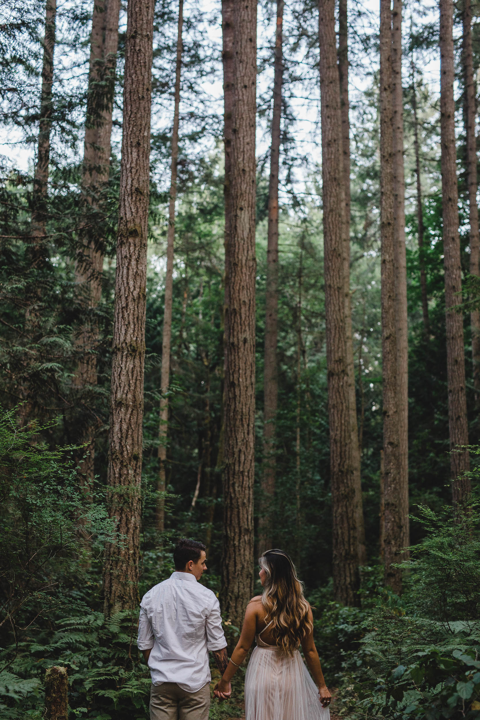 Elopement inspiration pictures in Bainbridge Island