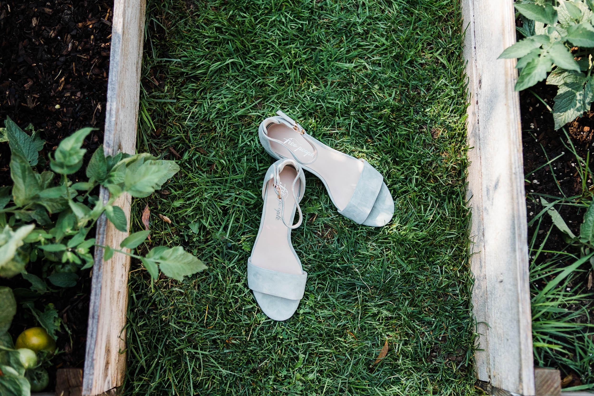 Free People bride wedding shoes