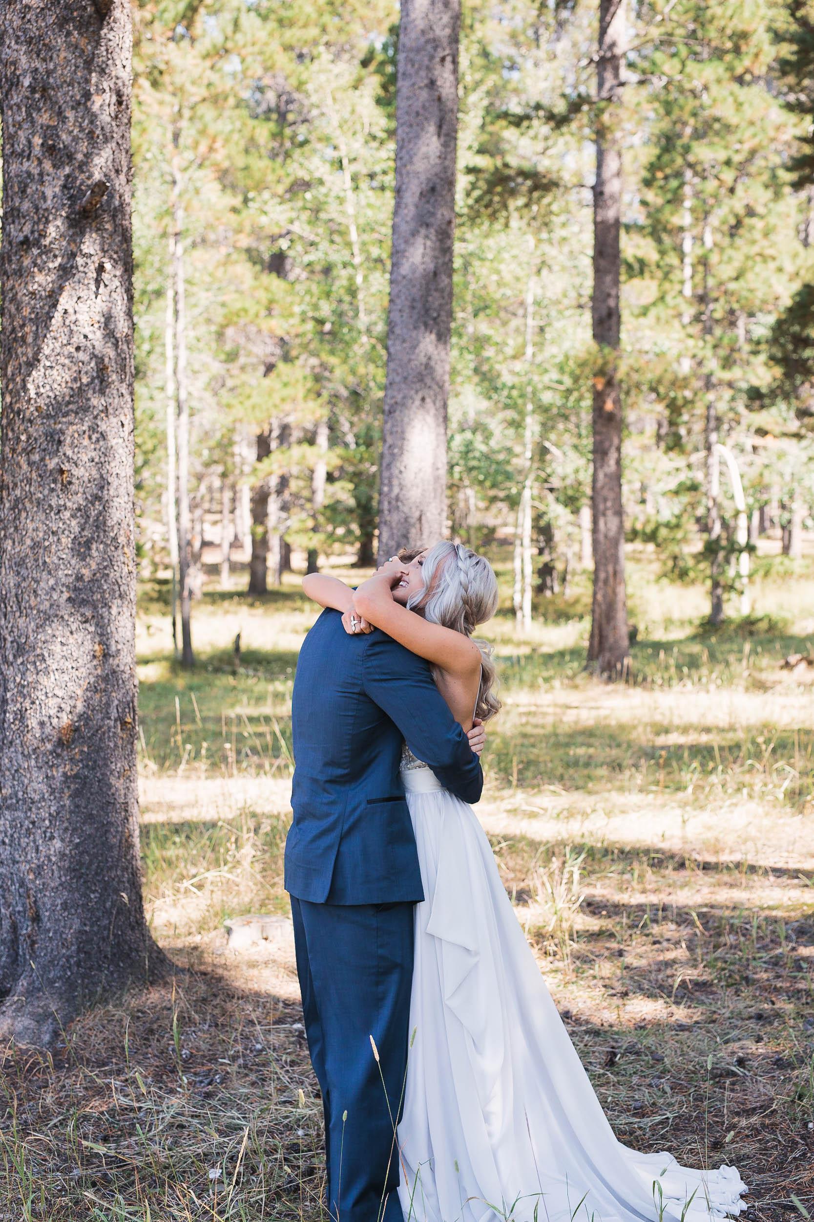 Casper mountain wedding