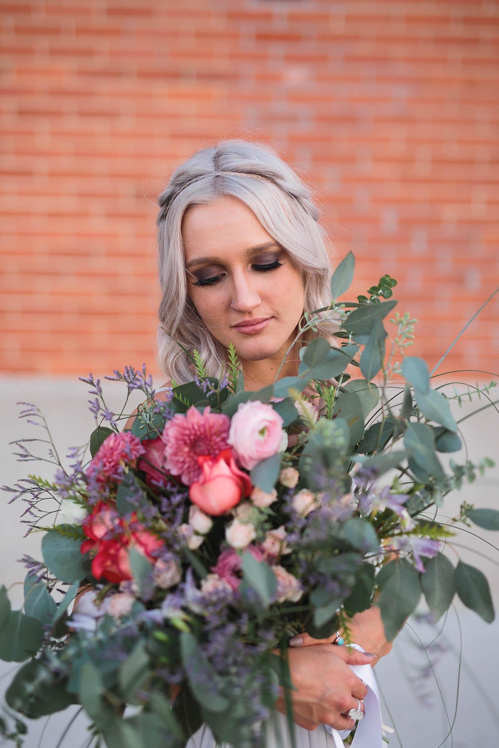 Johnny Appleseed Casper Wyoming wedding bouquet