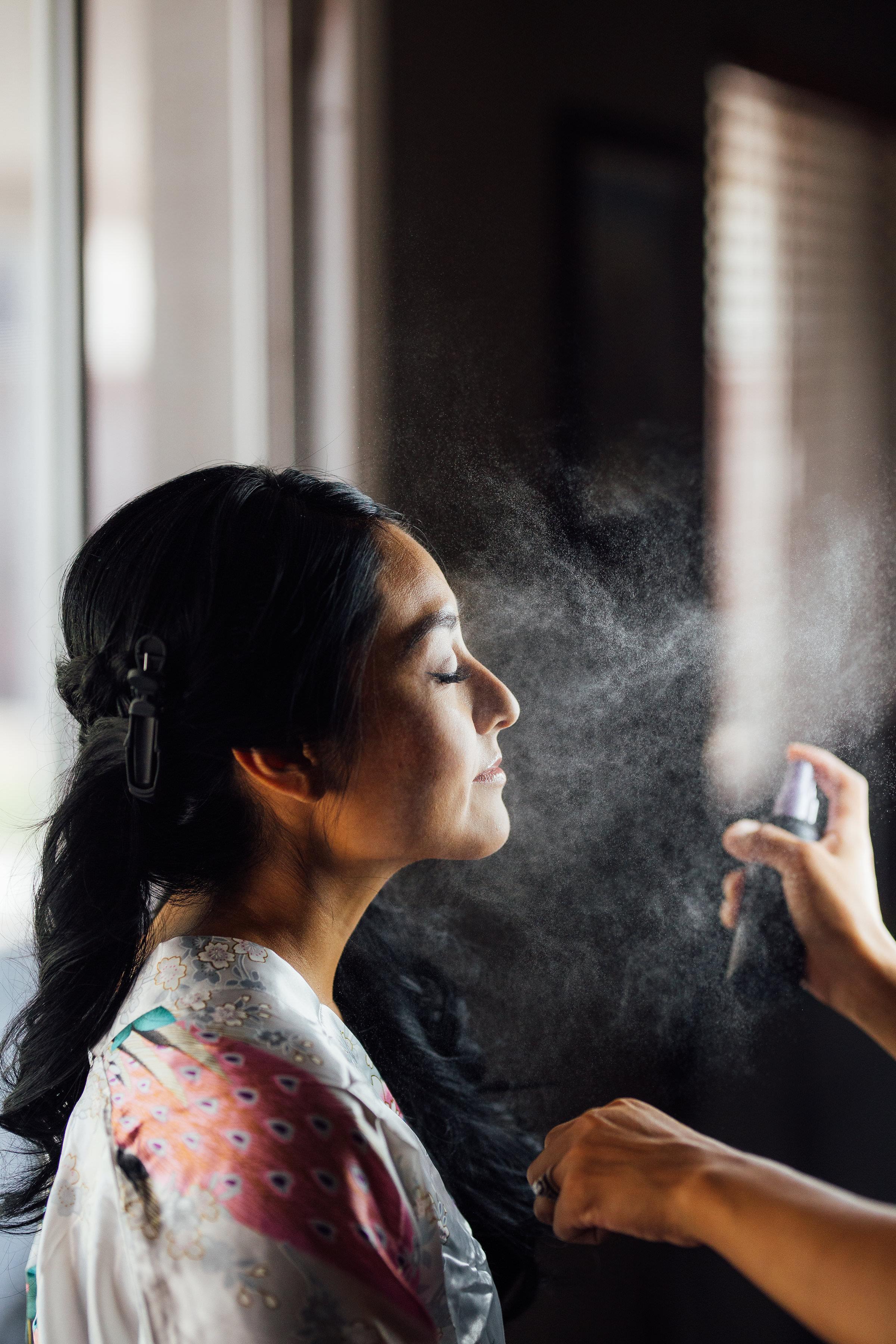 Bride Make up Spray