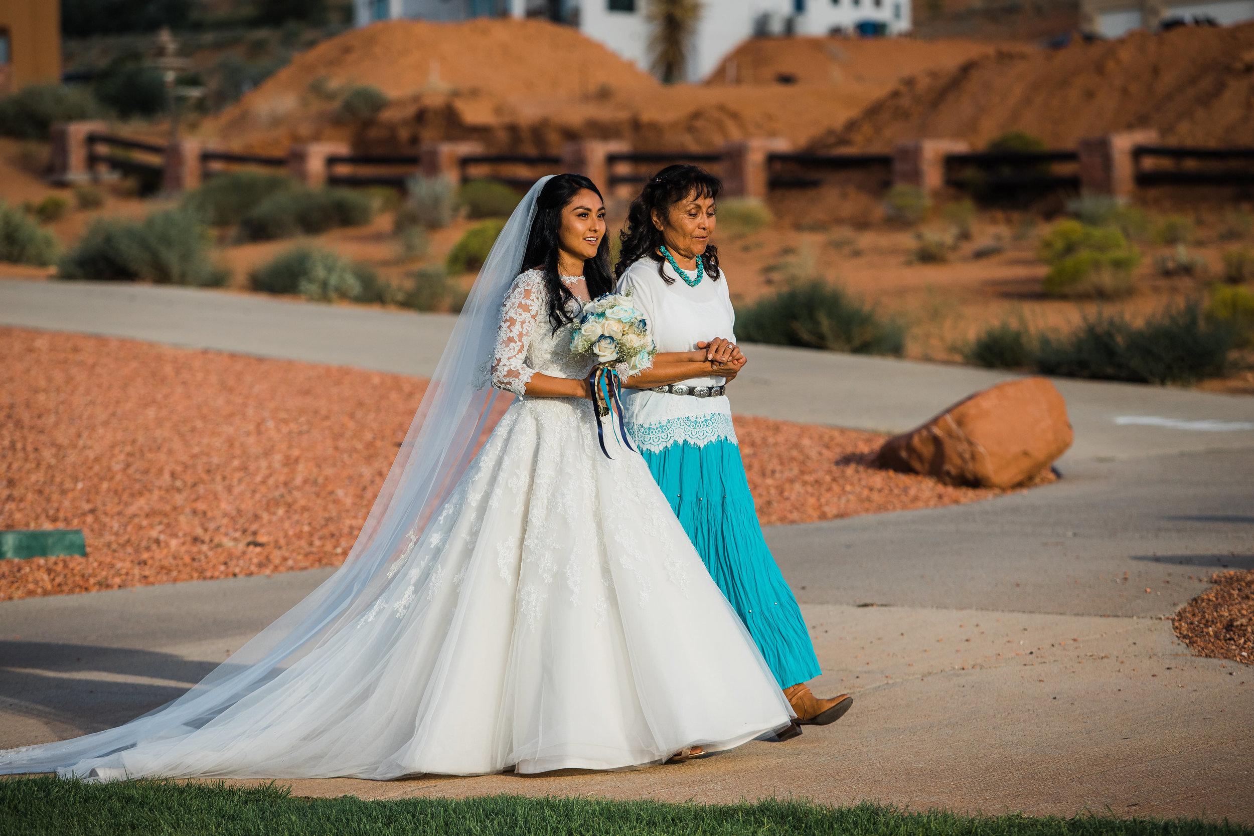 Bride Mother Walking Ceremony
