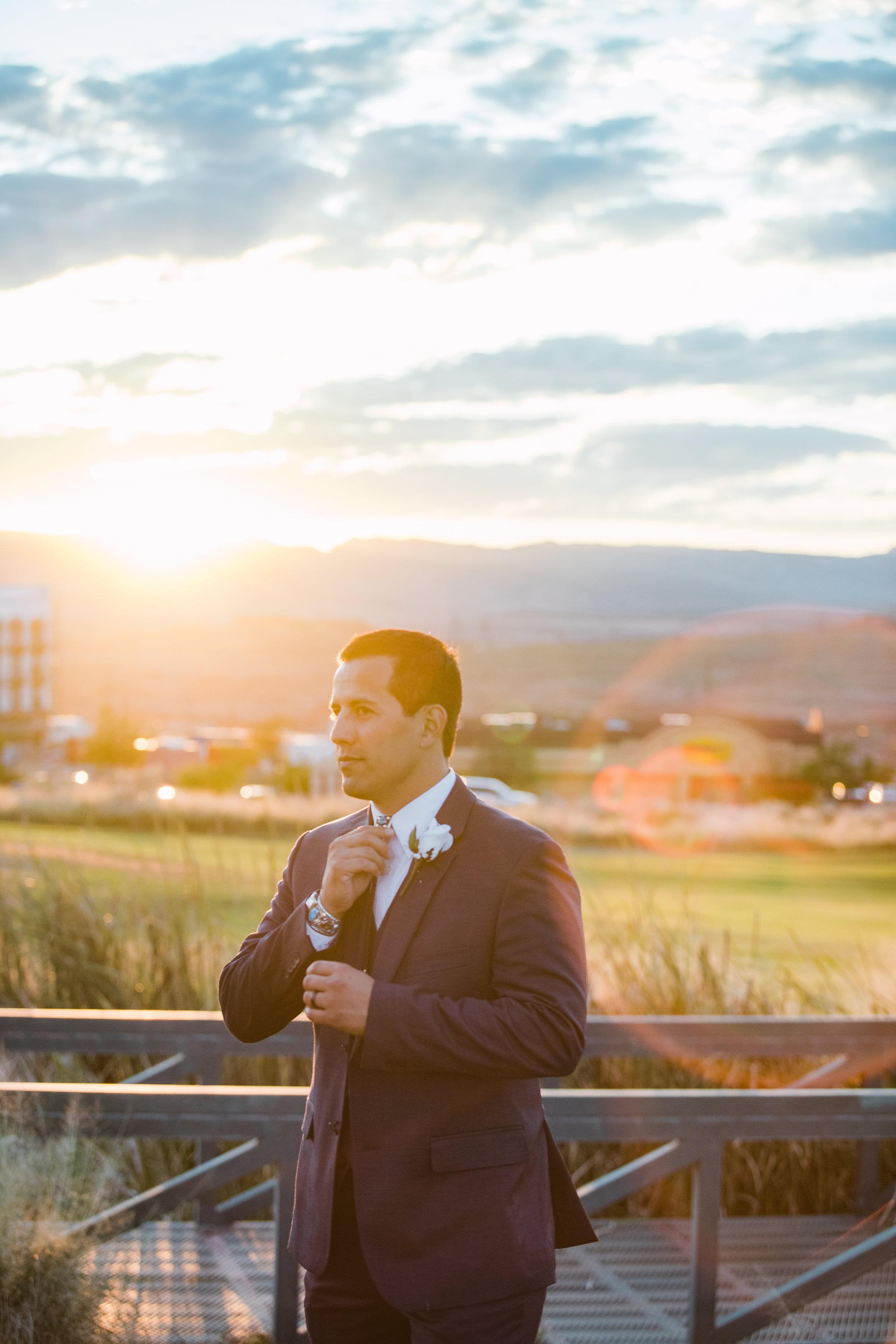 Arizona Sunset Wedding