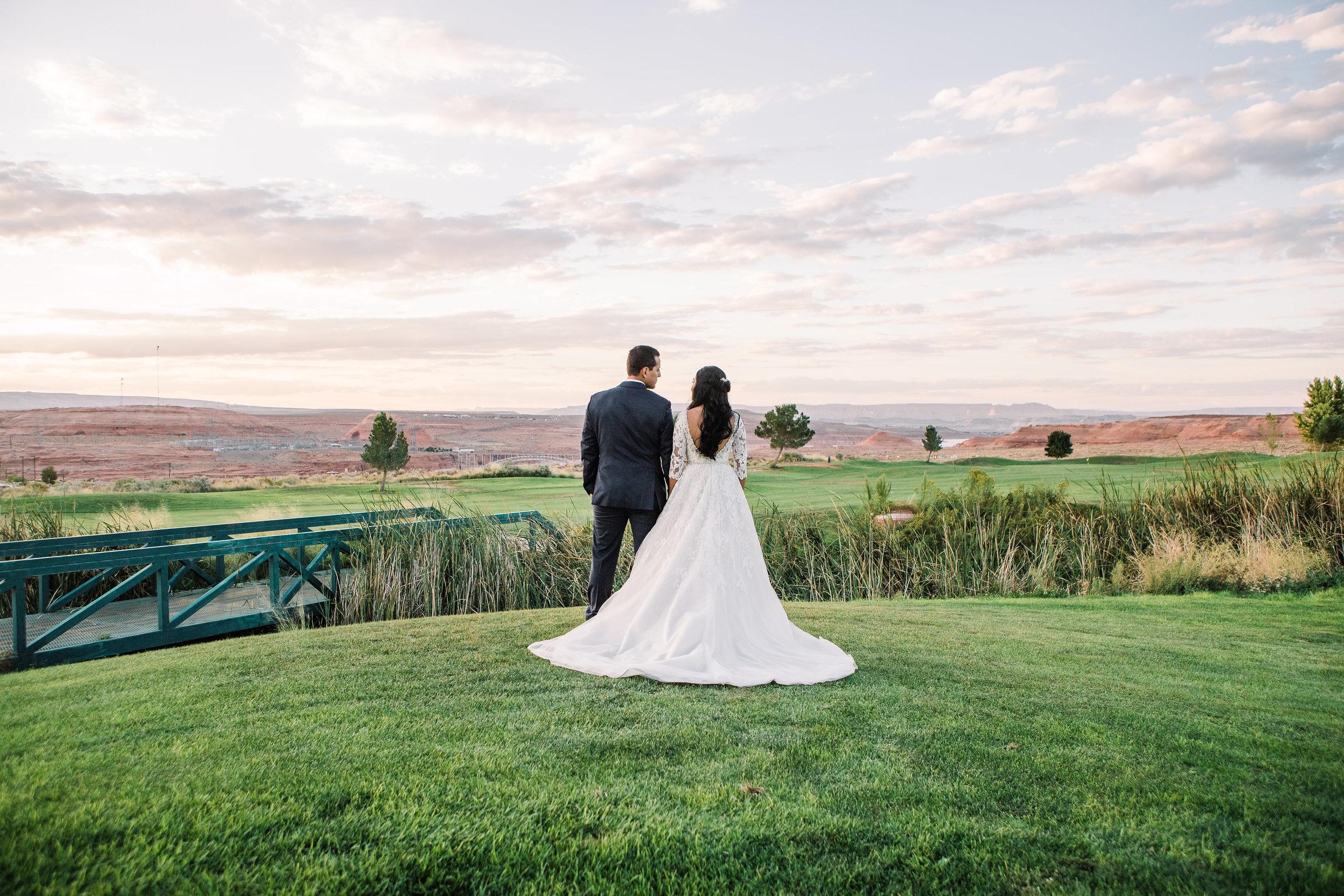Antelope Canyon Horseshoe Bend Wedding