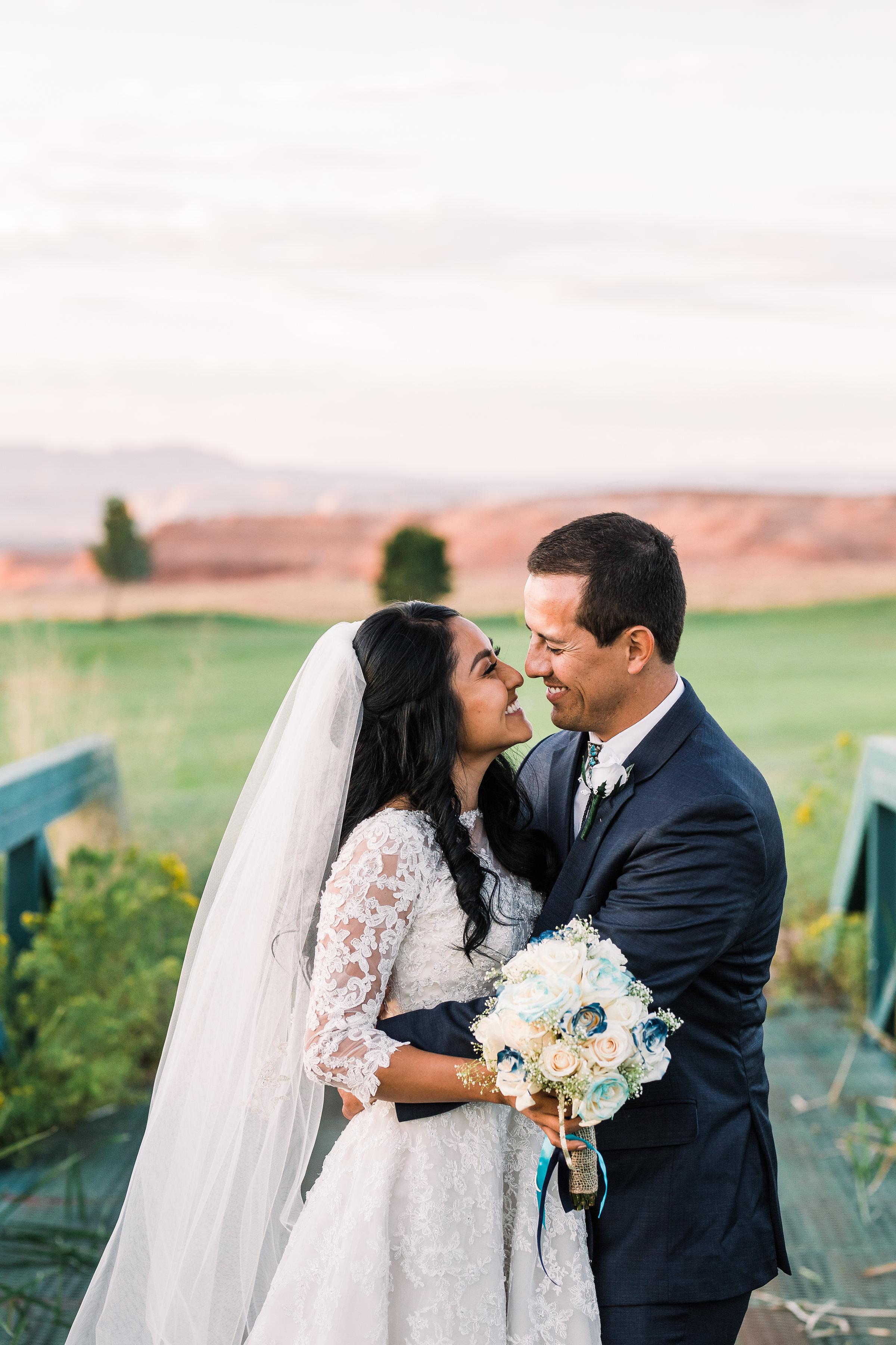 Page Arizona Wedding