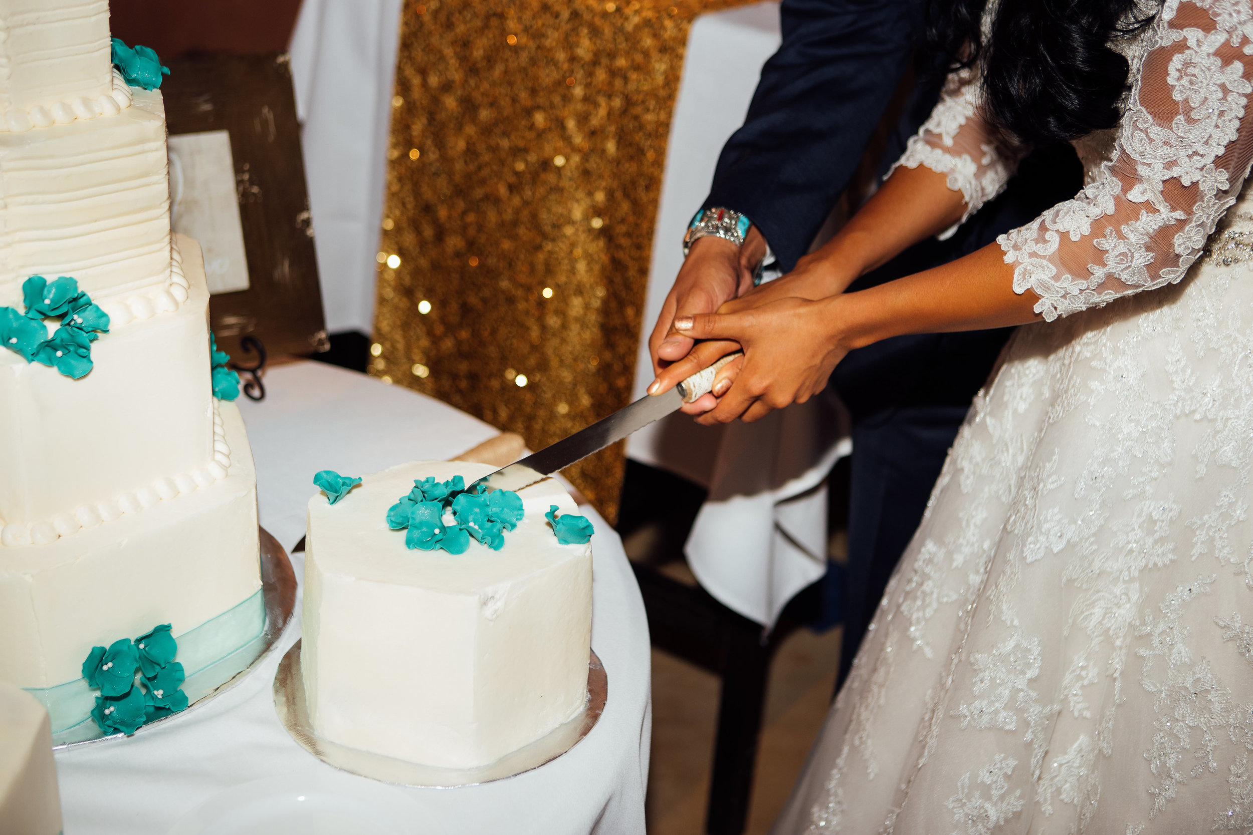 Cake Cutting Reception