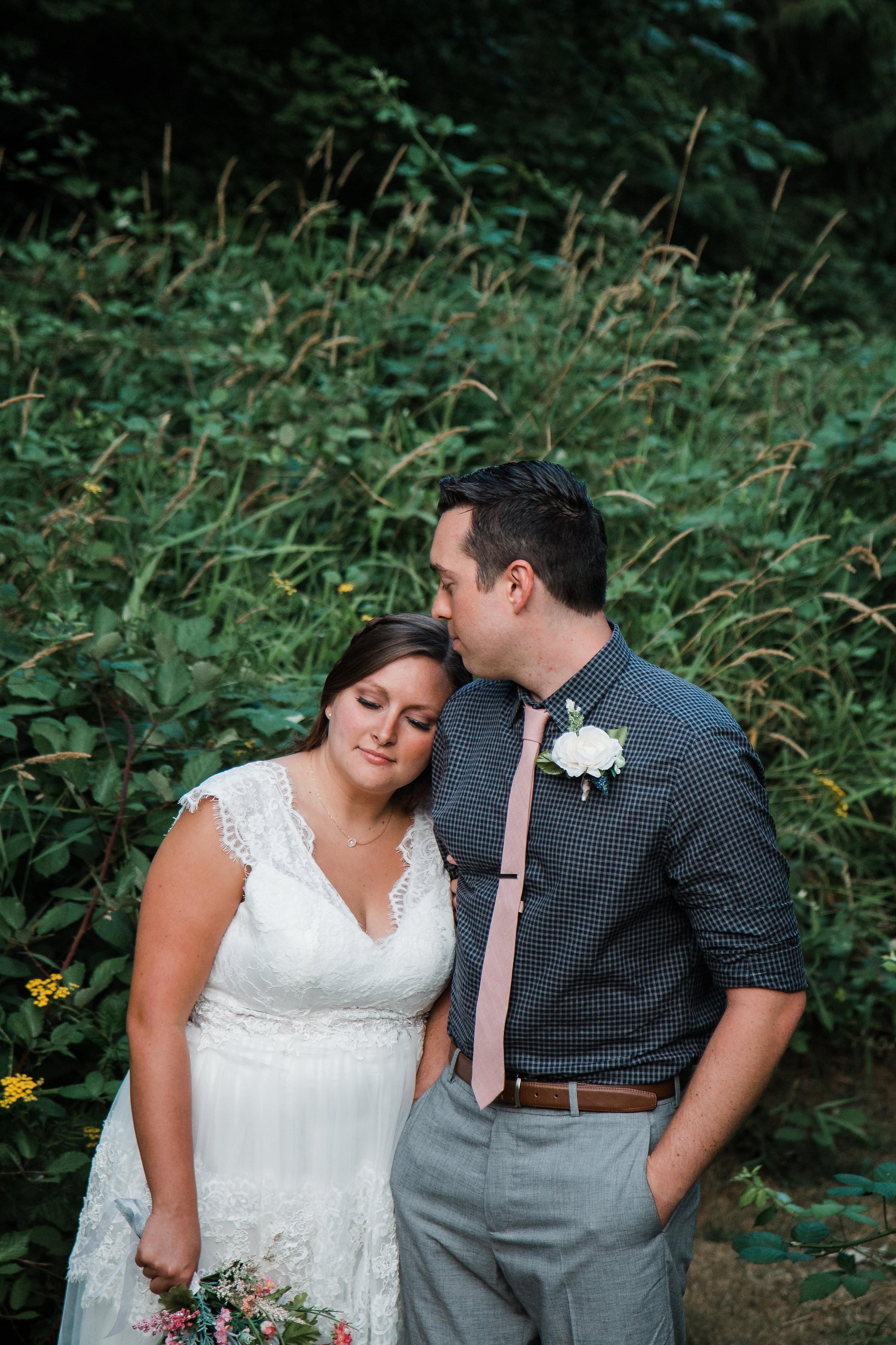 Washington Mountain Intimate Wedding