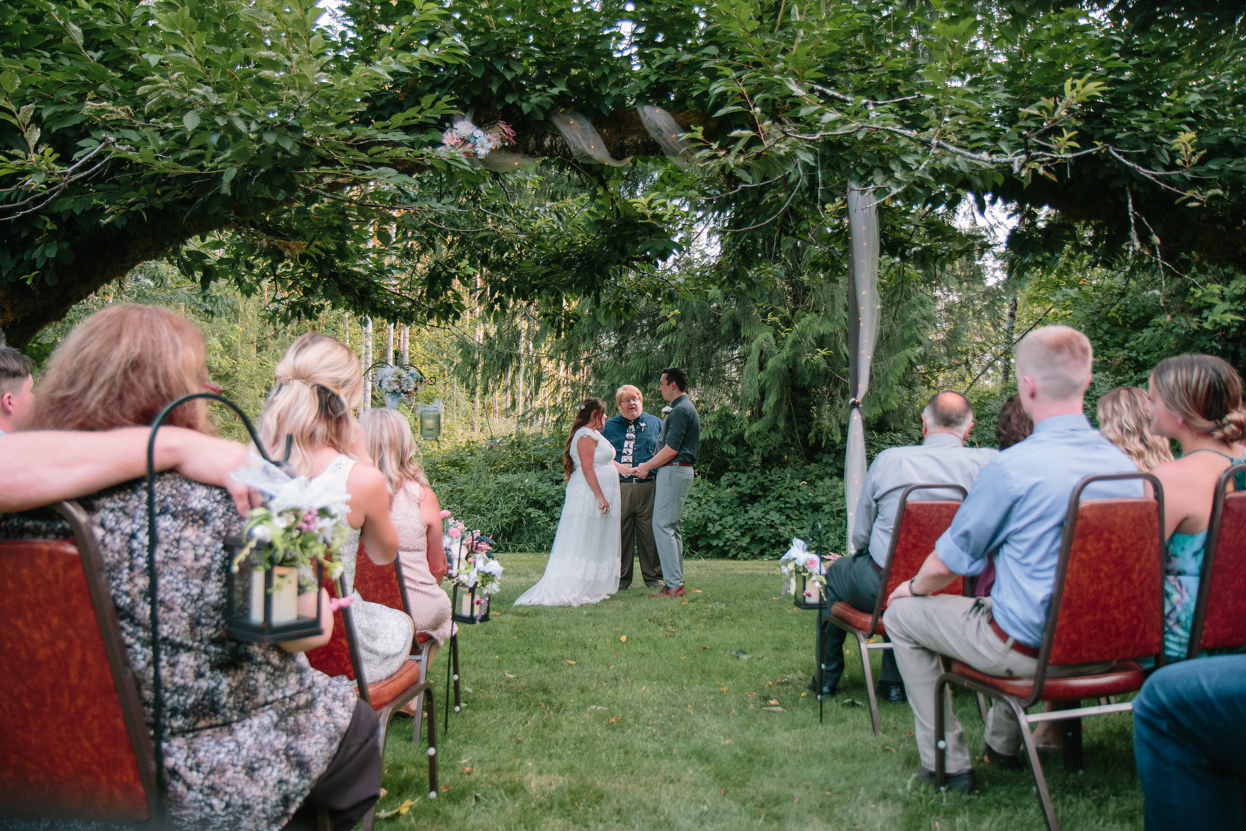 Washington Forest Cabin Ceremony