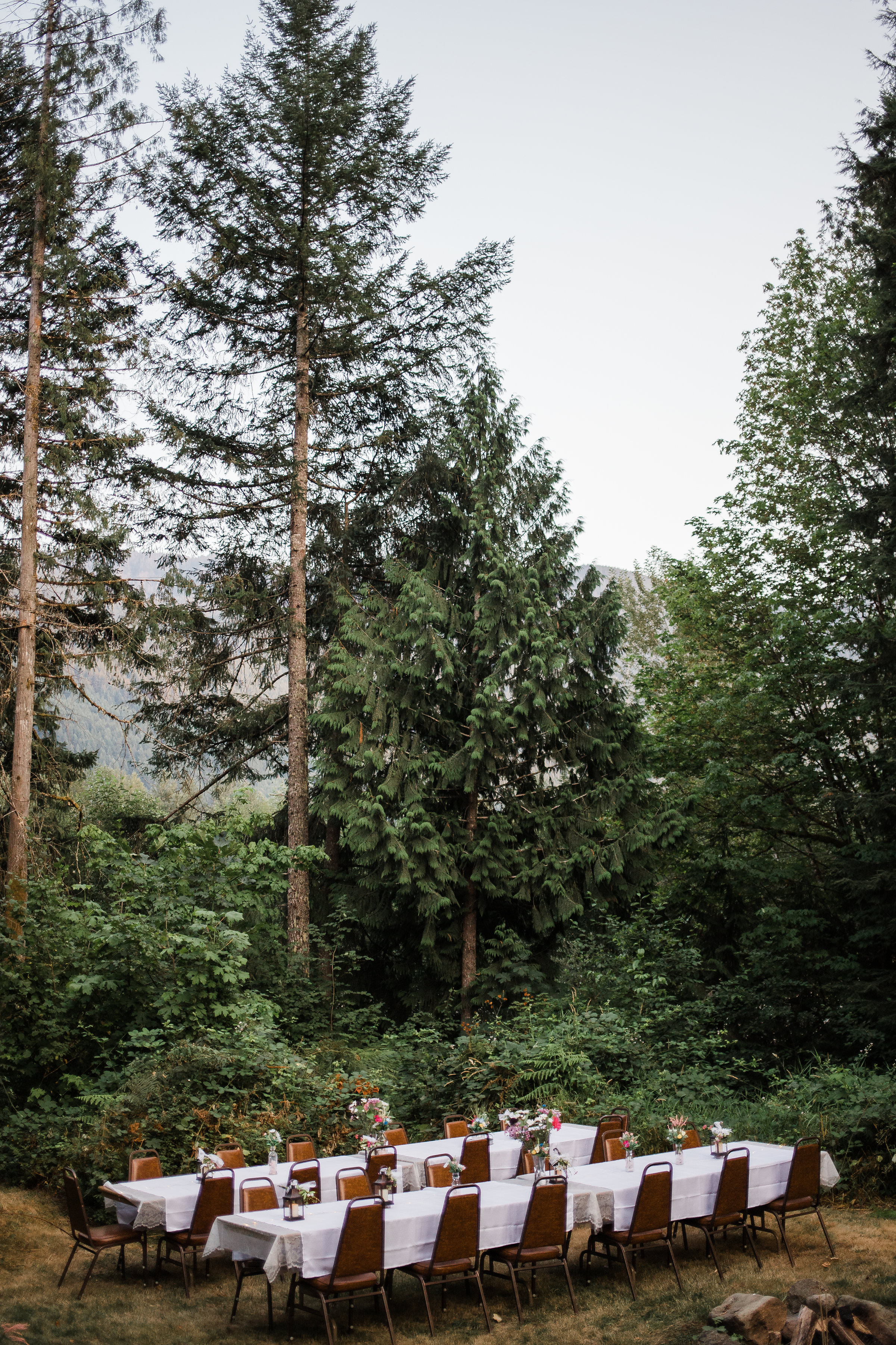 Mountain Forest Outdoor Reception