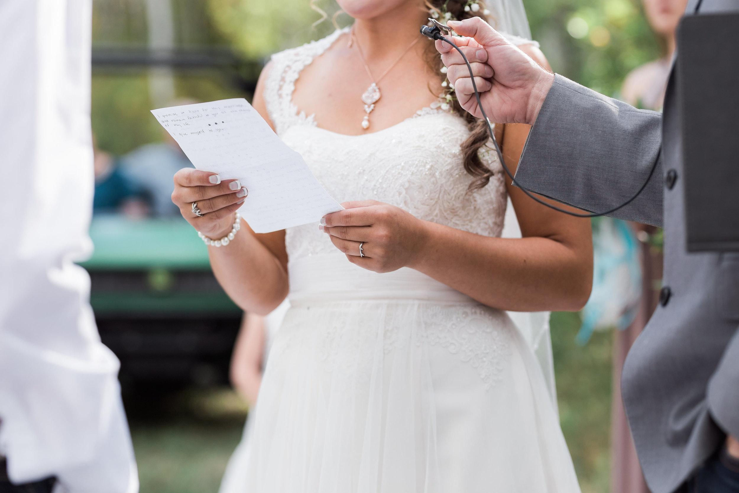 Personal Vows Intimate Wedding Elopement Colorado