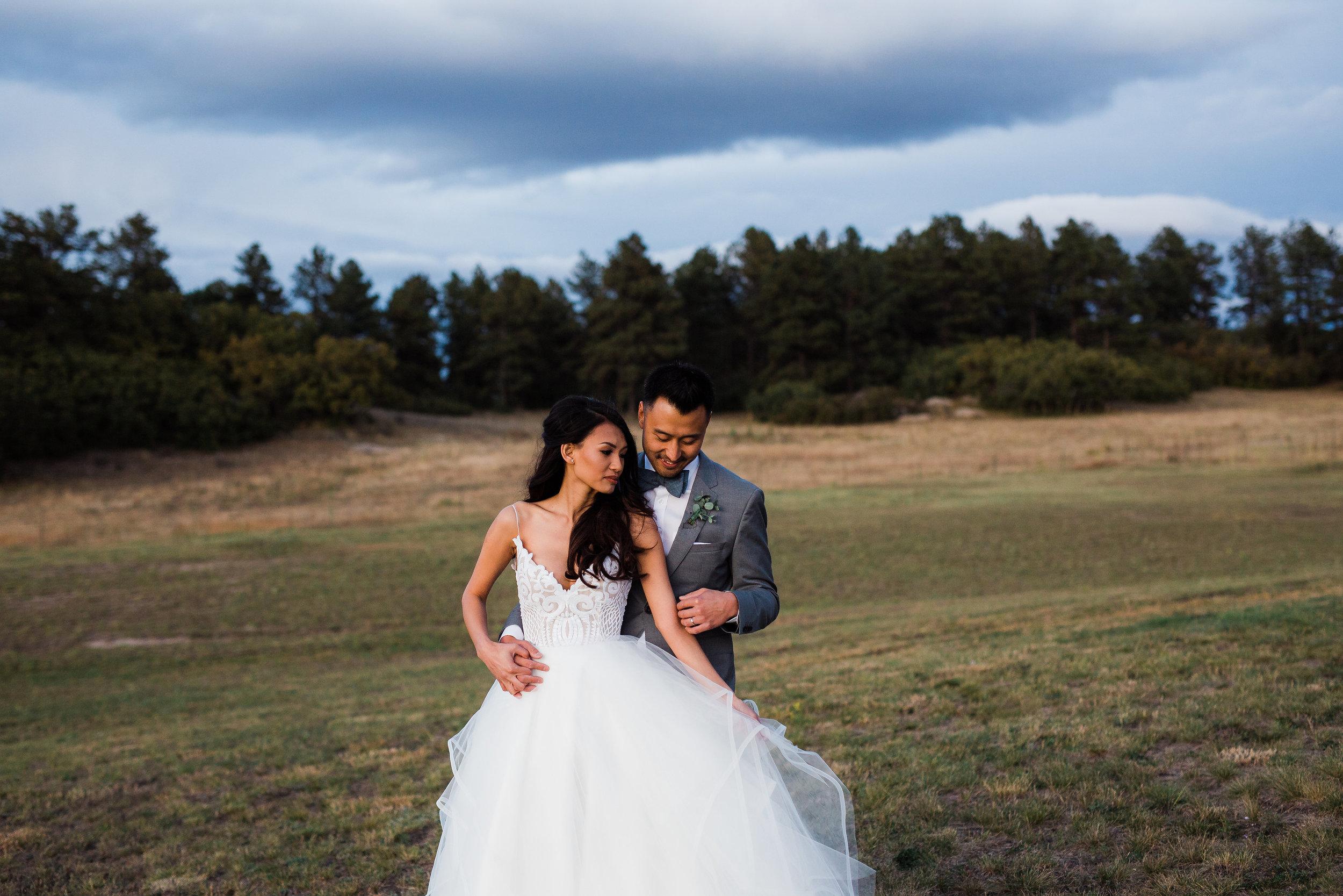 Adventure wedding photographers in Colorado Springs