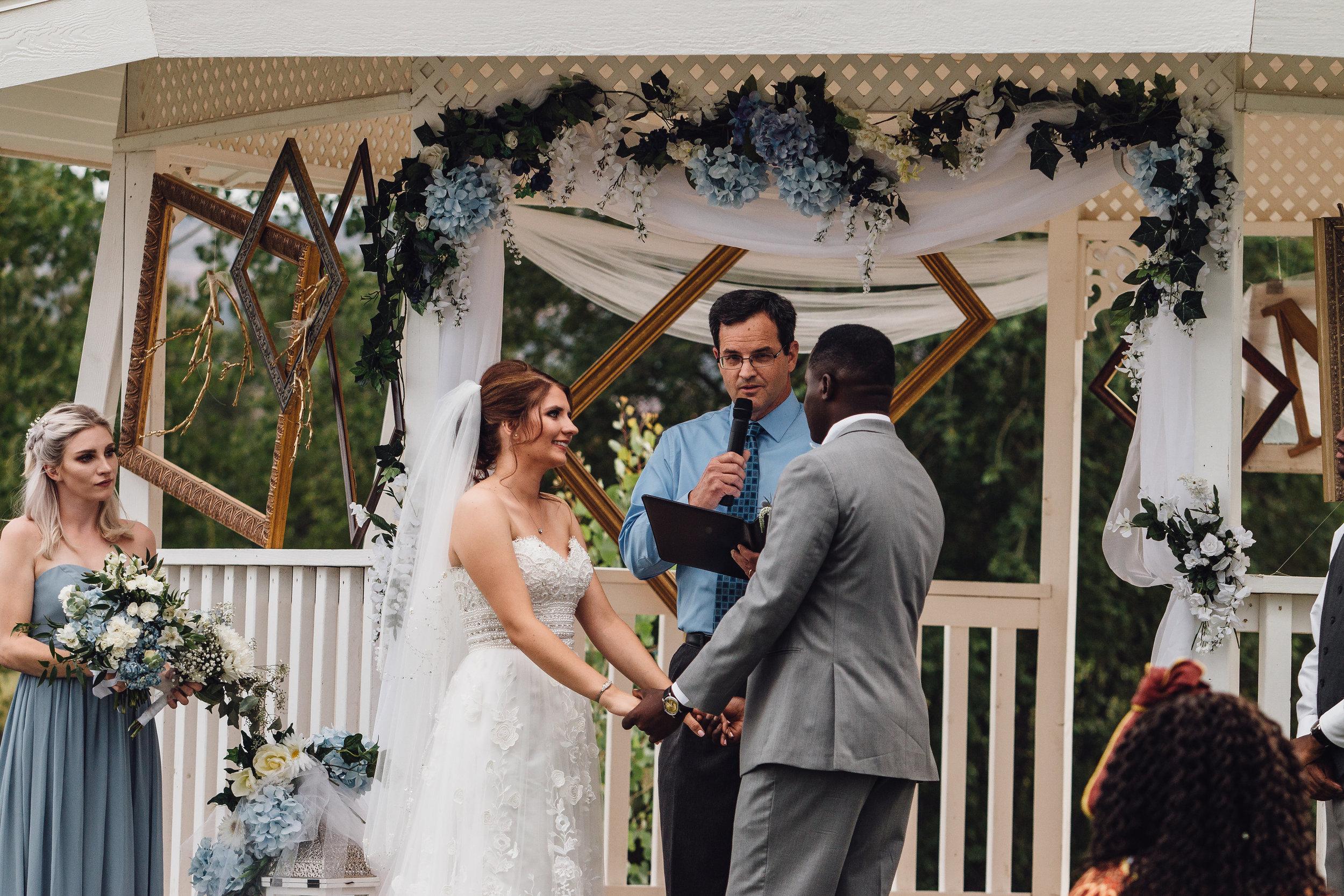 Colorado Interracial wedding