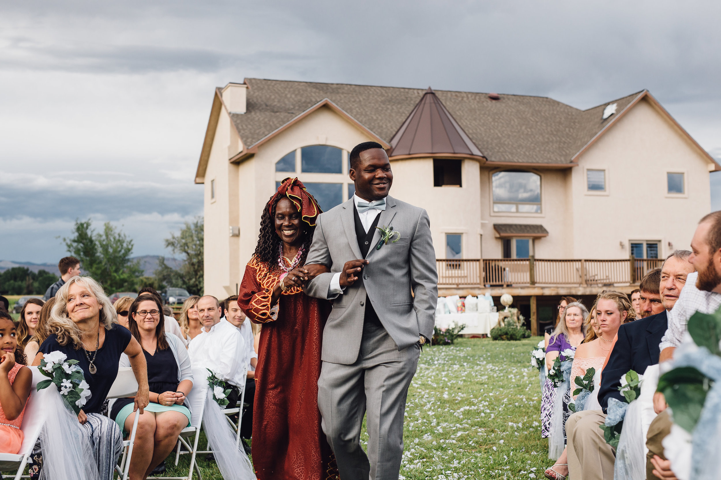 Western Slope Colorado Backyard Wedding