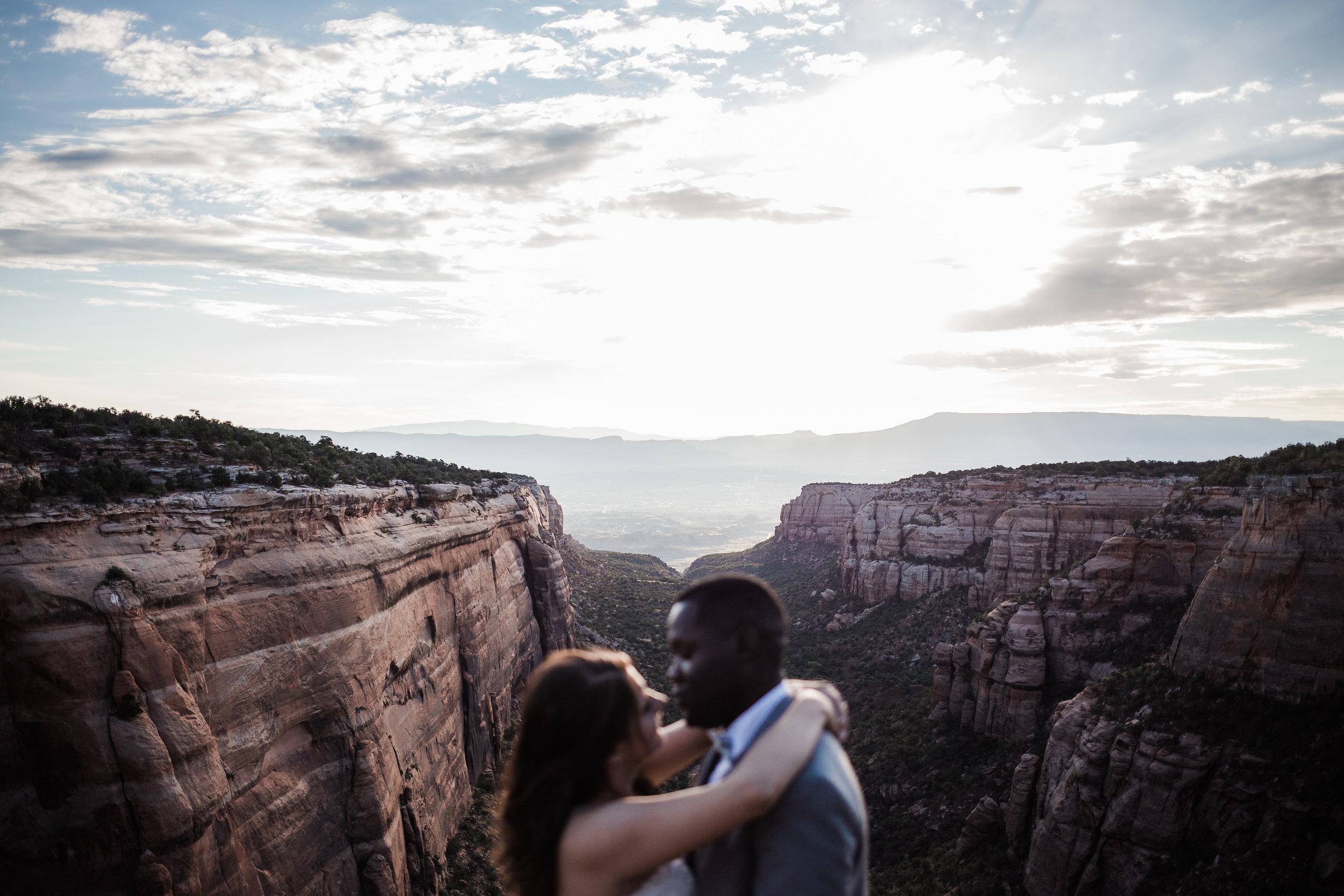 Colorado National Monument Wedding