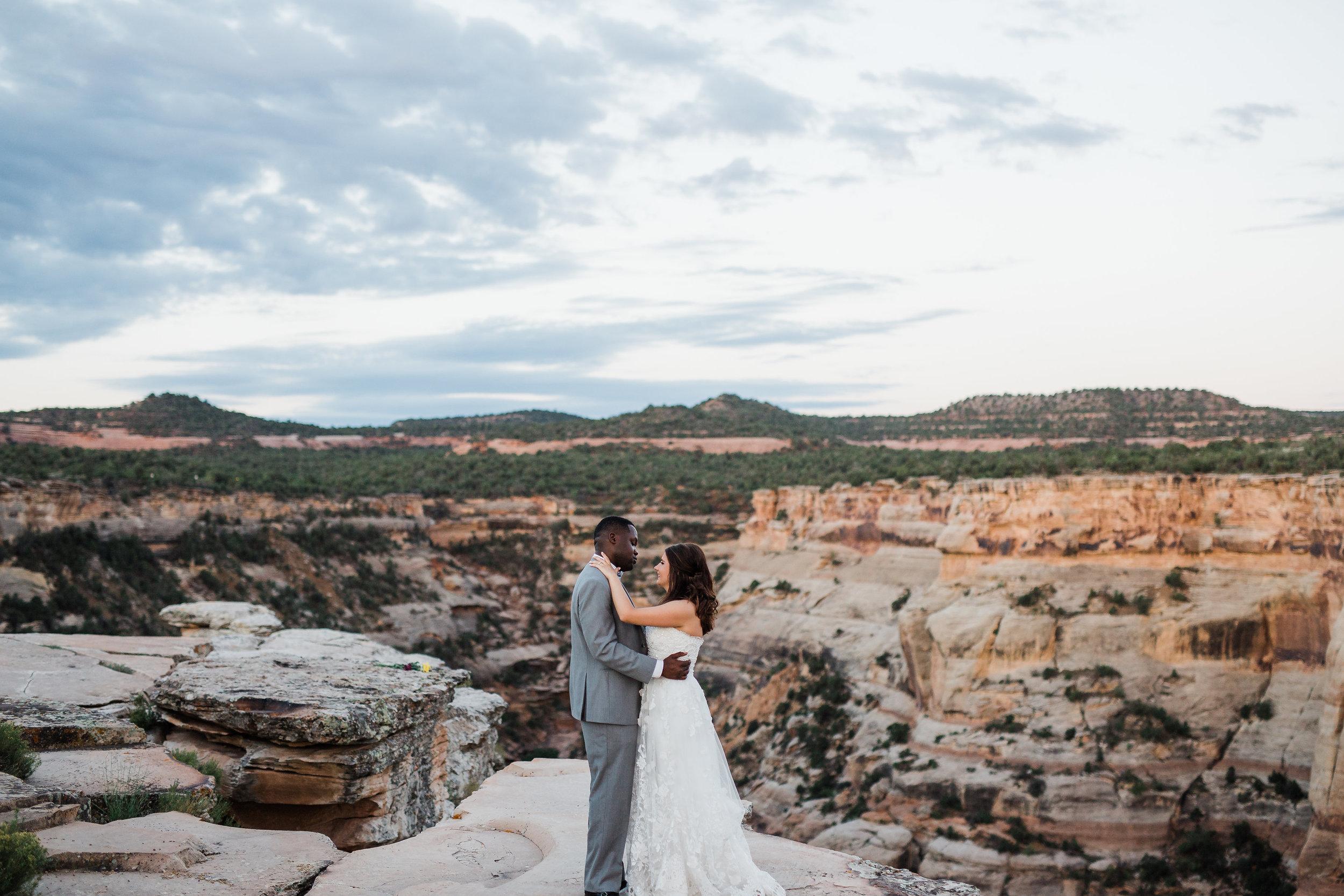 Colorado National Monument Wedding Photos