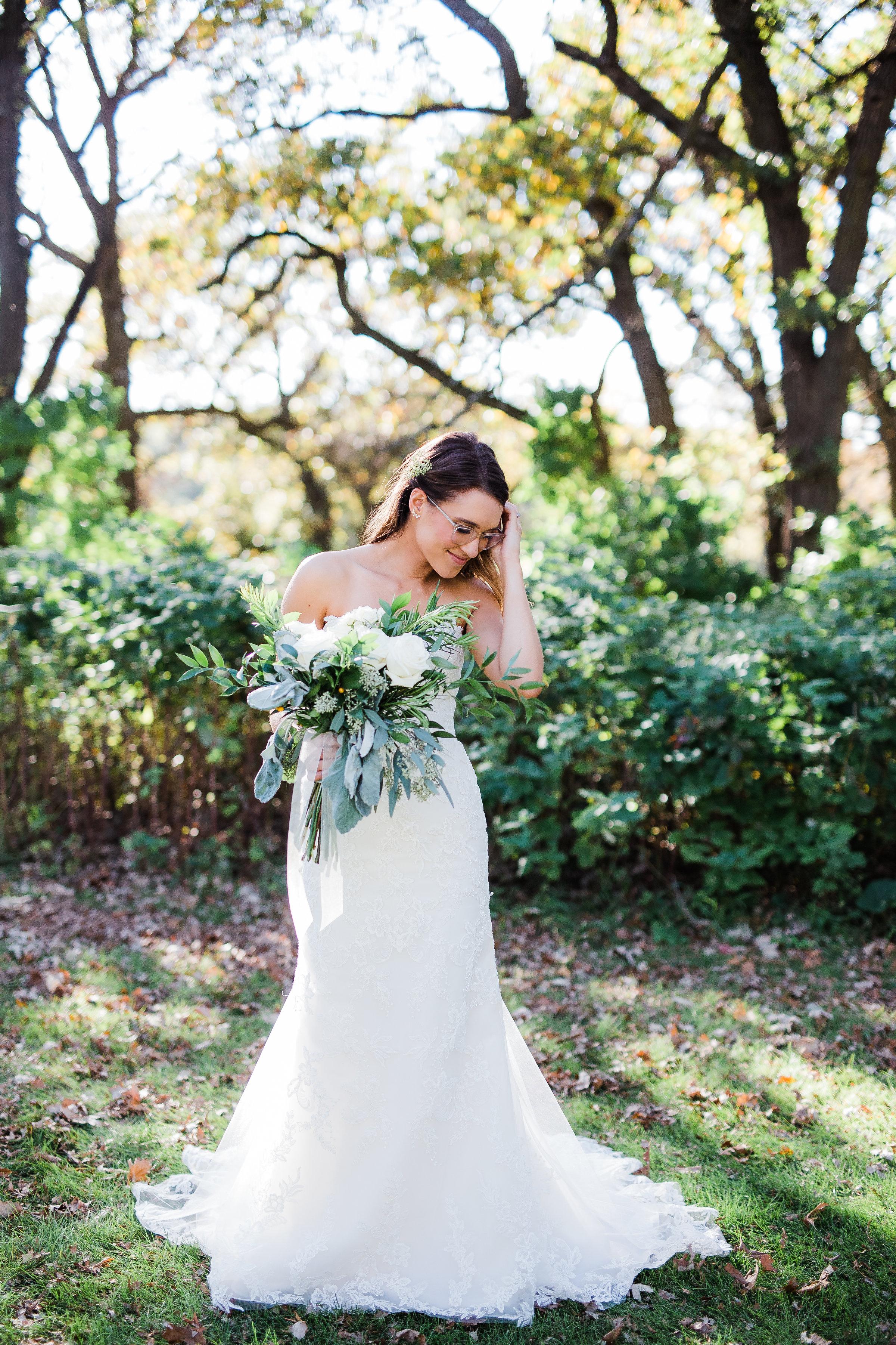 Beautiful bride portraits traveling wedding photographers Minneapolis MN