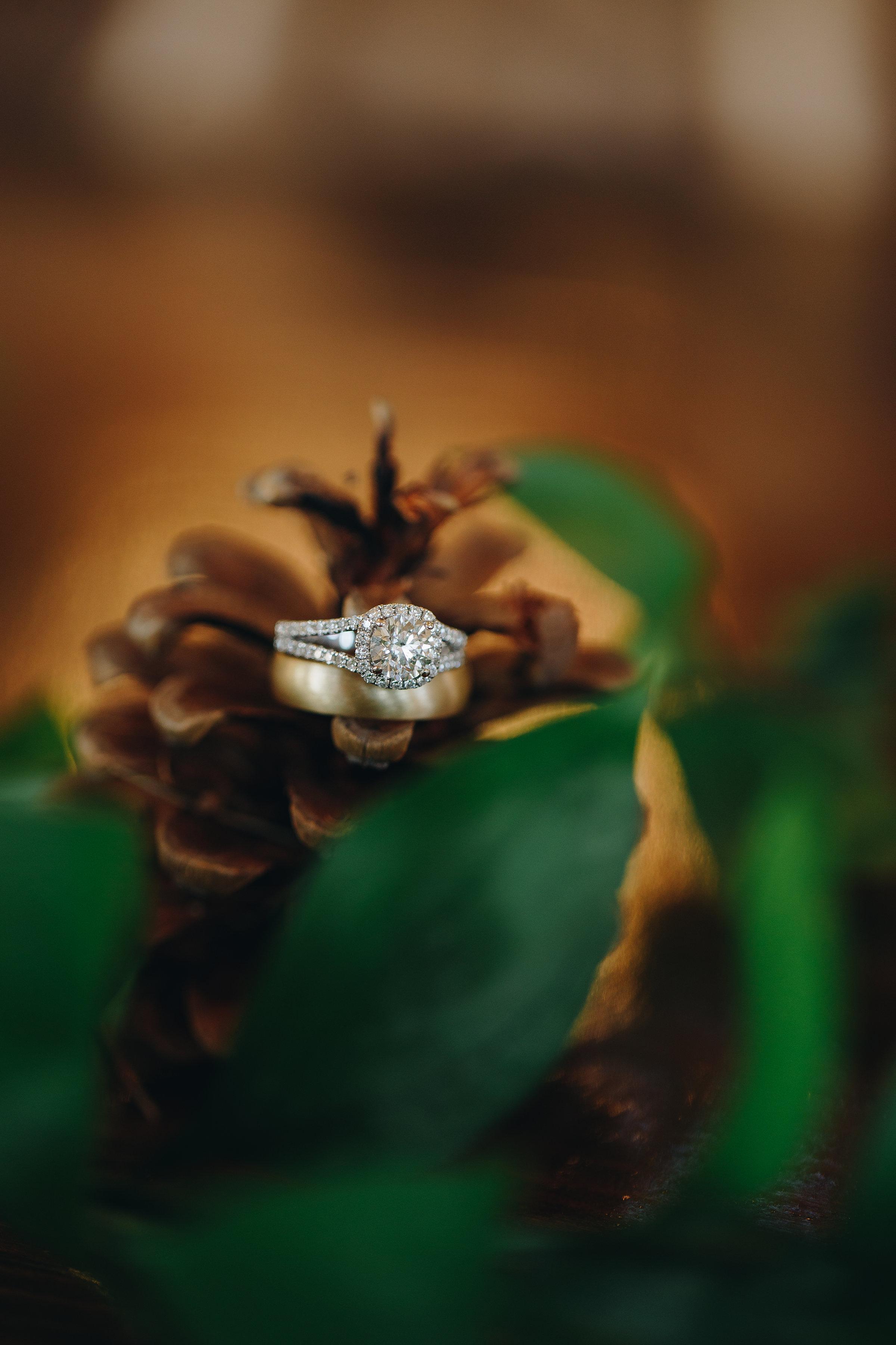 Minneapolis Minnesota wedding ring detail pictures