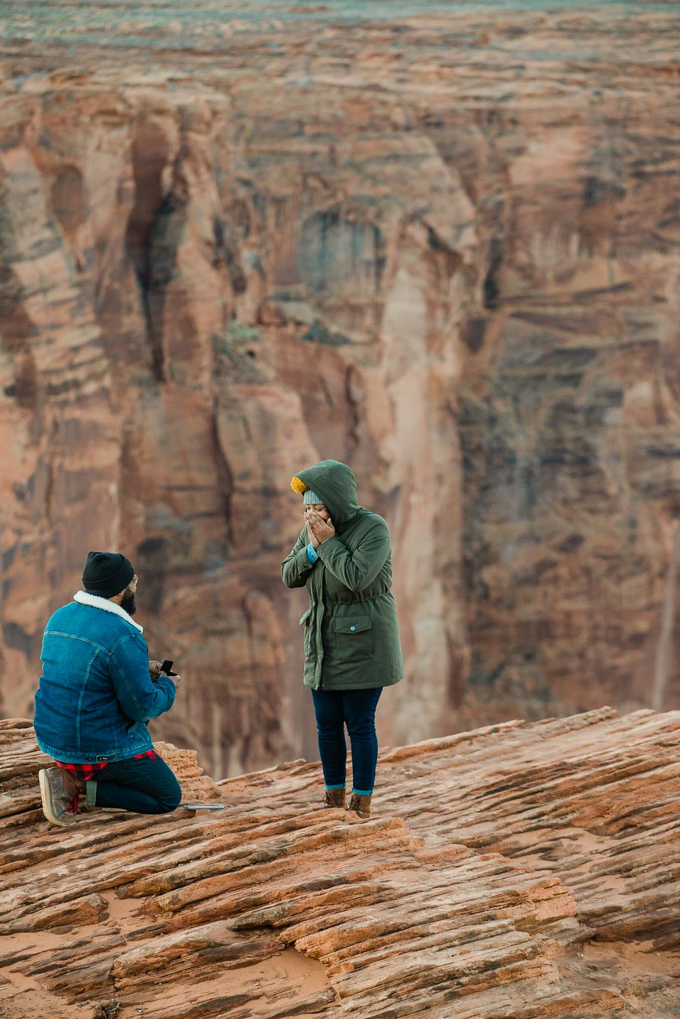 Proposals - You must be so stoked (and maybe a little nervous)! Let us help you plan the perfect surprise and capture your lovers reaction.
