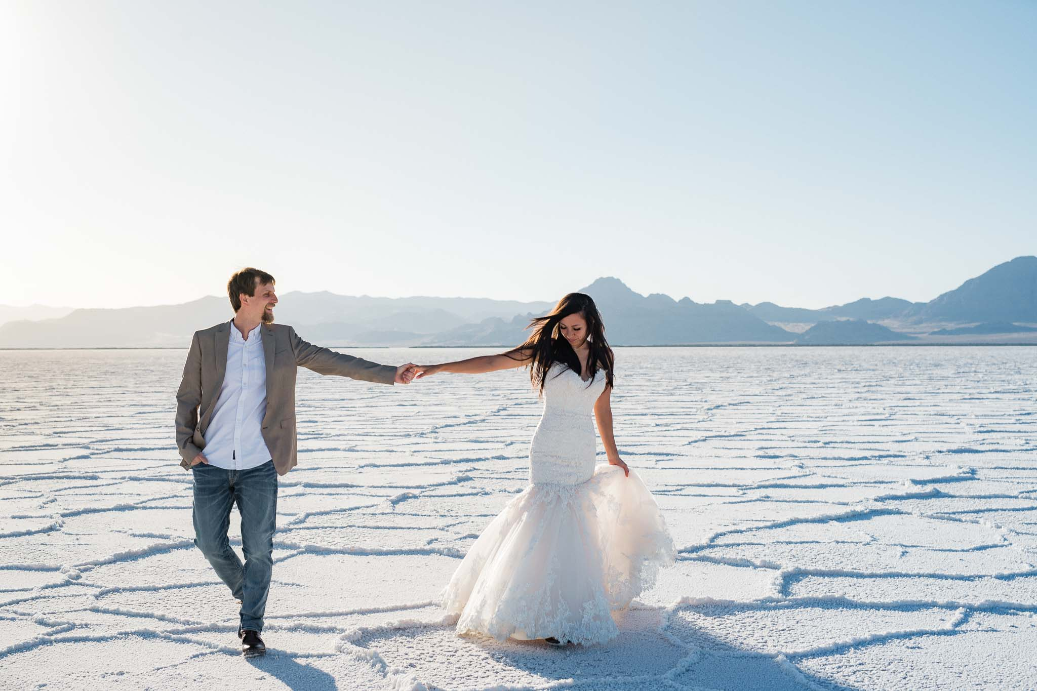 Adventure Photographer Bonneville Salt Flats